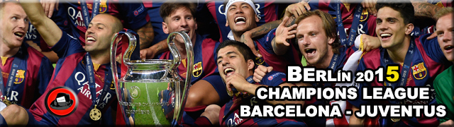Barça Berlín Champions 2015