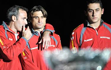 Subcampeones Copa Davis (EFE)