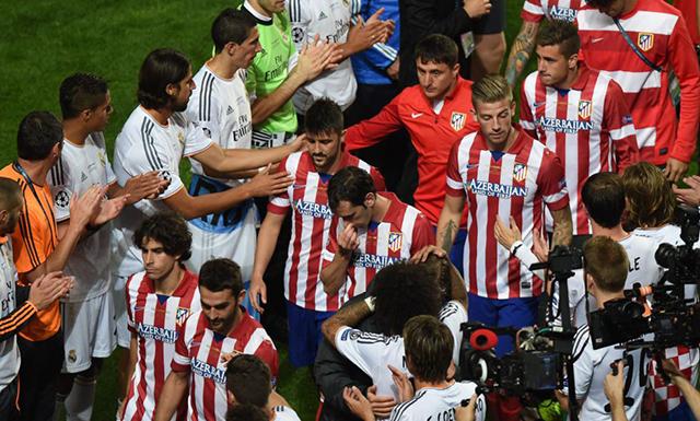 Atlético pasillo Madrid