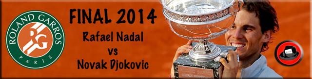 Rafael Nadal Roland Garros 2014